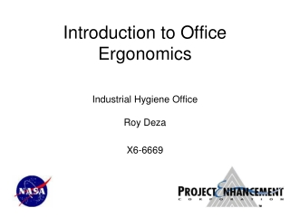 Introduction to Office Ergonomics