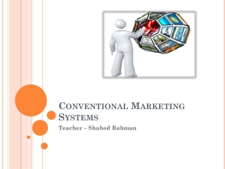Conventional Marketing Systems