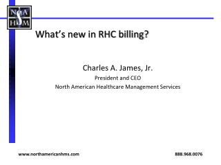 What's new in RHC billing?