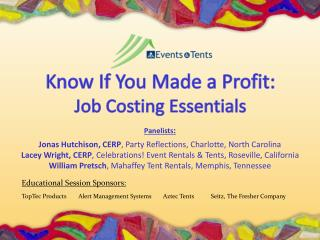 Know If You Made a Profit: Job Costing Essentials