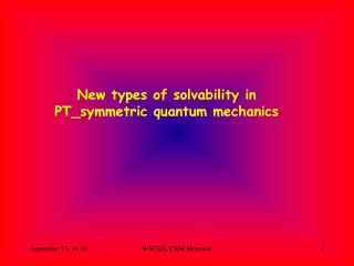 New types of solvability in PT\_symmetric quantum mechanics