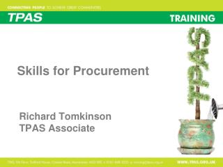 Skills for Procurement