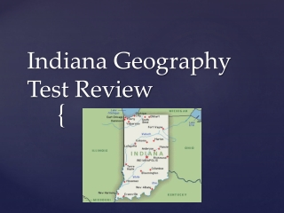 Indiana Geography Test Review