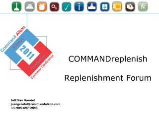COMMANDreplenish Replenishment Forum