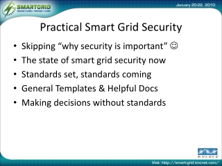 Practical Smart Grid Security