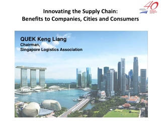 Innovating the Supply Chain:  Benefits to Companies, Cities and Consumers