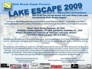 State Beauty Supply Presents…