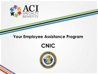 Your Employee  Assistance  Program CNIC