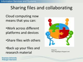 Sharing files and collaborating