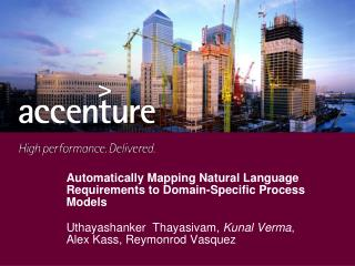 Automatically Mapping Natural Language Requirements to Domain-Specific Process Models