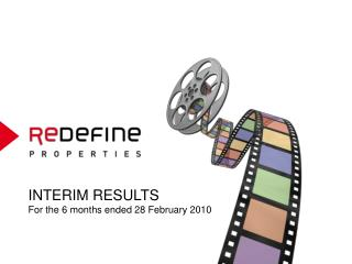 INTERIM RESULTS For the 6 months ended 28 February 2010