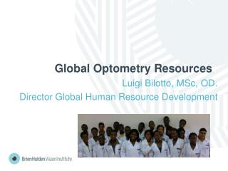 Global Optometry Resources