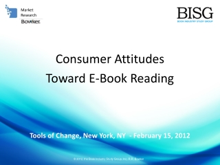 Consumer Attitudes  Toward E-Book Reading