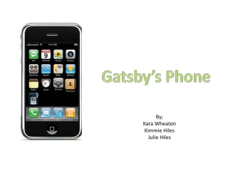 Gatsby's Phone