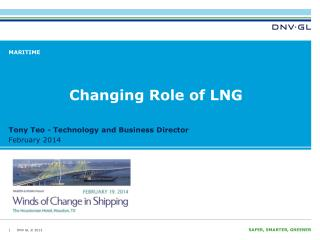 Changing  Role of LNG