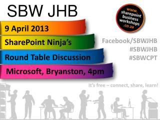 SBW JHB