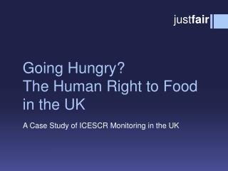 Going Hungry? The Human Right to Food in the UK