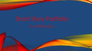 Short Story Portfolio