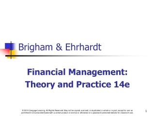 Brigham & Ehrhardt