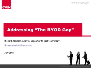 "Addressing ""The BYOD Gap"""