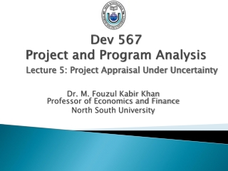 Dev 567 Project and Program Analysis