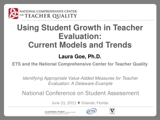 Identifying Appropriate Value-Added Measures for Teacher Evaluation: A Delaware Example