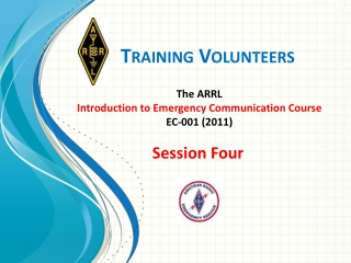 Training Volunteers