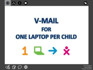 V-Mail for One Laptop per Child