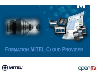 Formation MITEL Cloud Provider