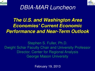 DBIA-MAR Luncheon