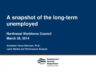 A snapshot of the long-term unemployed