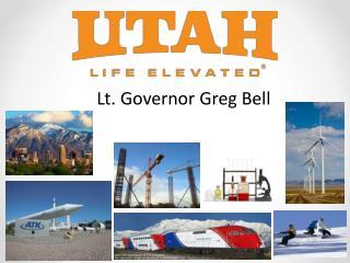 Lt. Governor Greg Bell