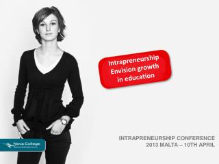 Intrapreneurship Envision growth i n  education