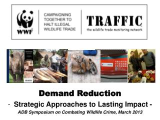 Demand Reduction Strategic Approaches to Lasting Impact - ADB Symposium on Combating Wildlife Crime, March 2013