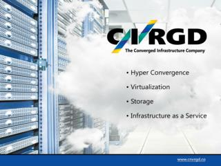 Converged Datatech introduces  Converged infrastructure