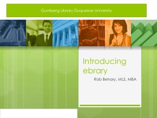 Introducing  ebrary