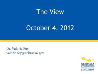 The View October 4, 2012