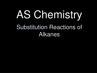 chapter 3  reactions of alkanes:  bond-dissociation energies, radical halogenation, and reactivity