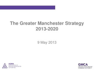 The Greater Manchester Strategy 2013-2020