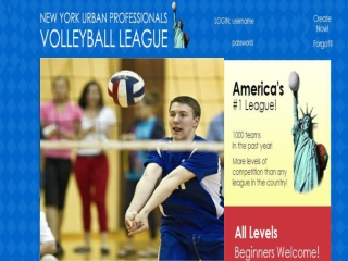Volleyball Leagues NYC
