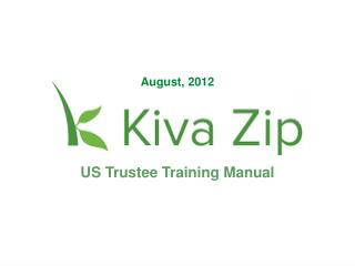 US Trustee Training Manual