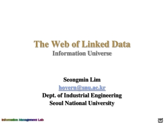 The Web of Linked Data Information Universe