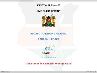 Record to report process General Ledger