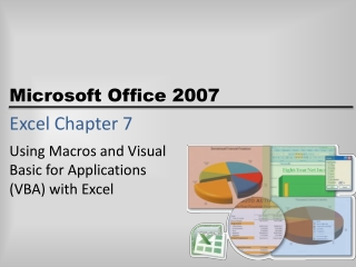 Excel Chapter 7