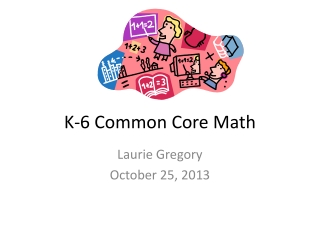 K-6 Common Core Math
