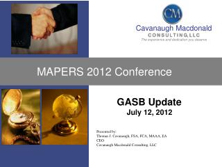 MAPERS 2012 Conference