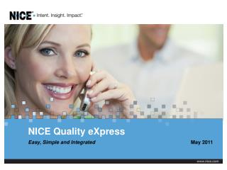 NICE Quality eXpress