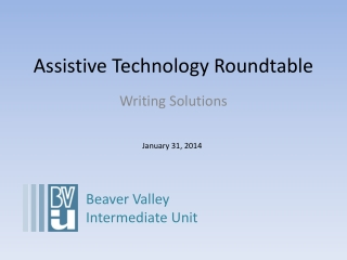 Assistive Technology Roundtable