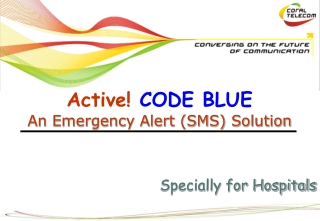 emergency codes and alerts