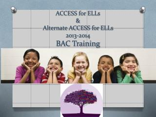 ACCESS for ELLs & Alternate ACCESS for ELLs  2013-2014 BAC Training